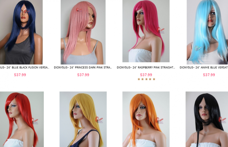 epic cosplay wigs