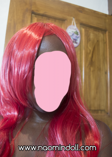 rosewholesale wig review, red wig, naomindoll, naomi 'n doll
