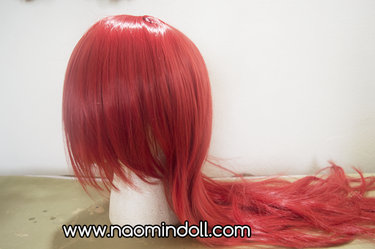 rosewholesale wig review, red wig