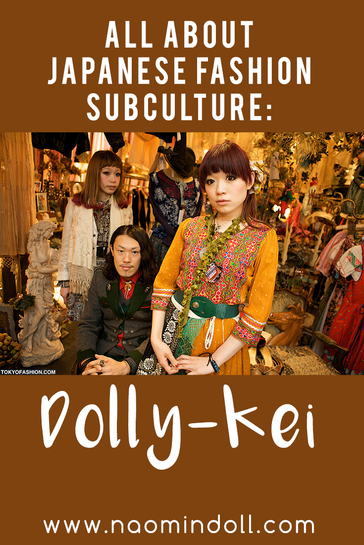 All about japanese fashion suculture dolly-kei   Naomi 'N Doll