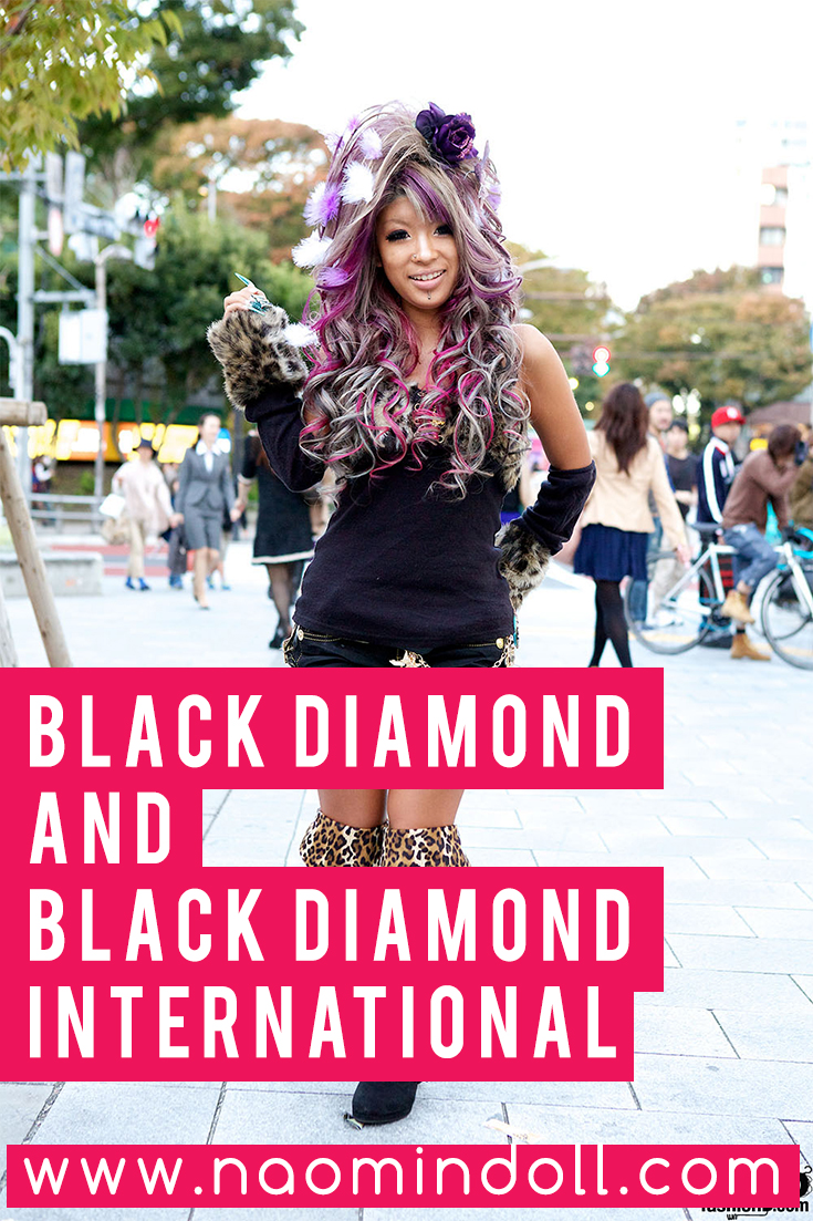 black diamond and black diamond international | naomi' n doll