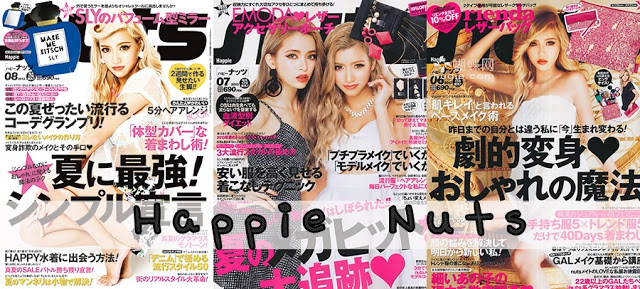 Japanese Magazine of the Week: Happie Nuts