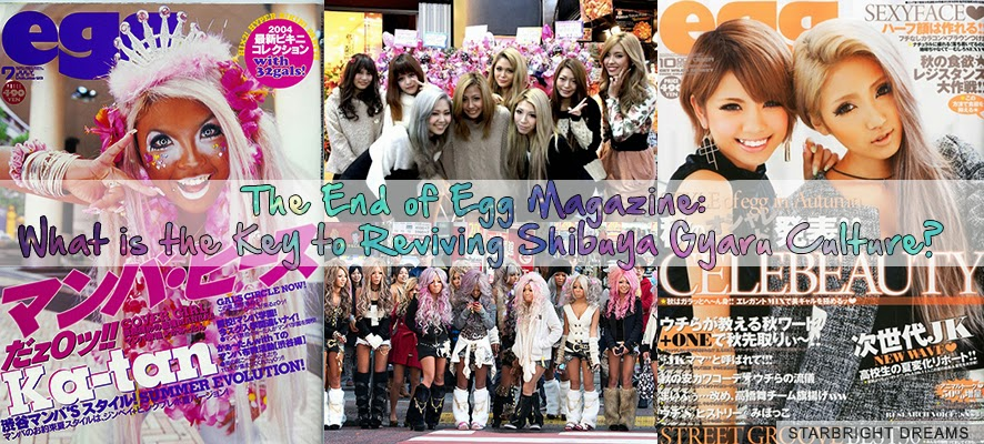 The End of Egg Magazine: What is the Key to Reviving Shibuya Gyaru Culture?