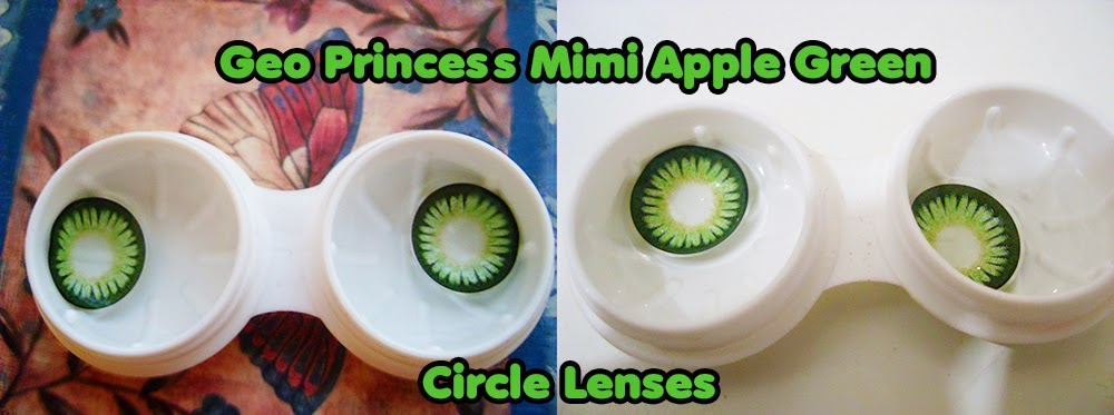 REVIEW: Geo Princess Mimi Apple Green Circle Lenses