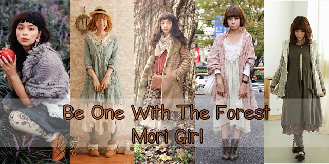 Be One With The Forest: Mori Girl