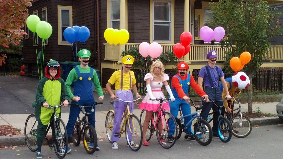 Mario Kart Group Halloween Costume Idea