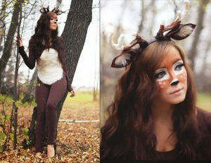 Deer Halloween Costume Idea