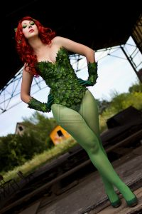 Poison Ivy Halloween Costume Idea