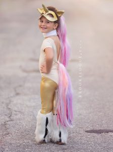 Unicorn Halloween Costume Idea
