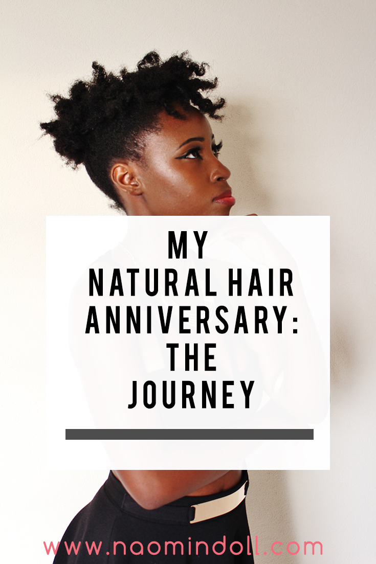My natural hair anniversary and journey