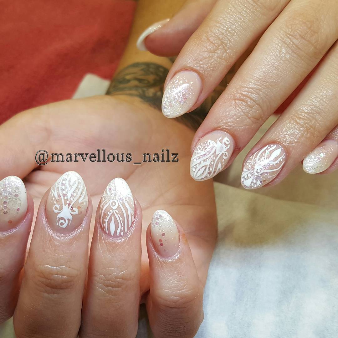 Christmas festive nails by marvellous_nailz| Naomi 'N Doll