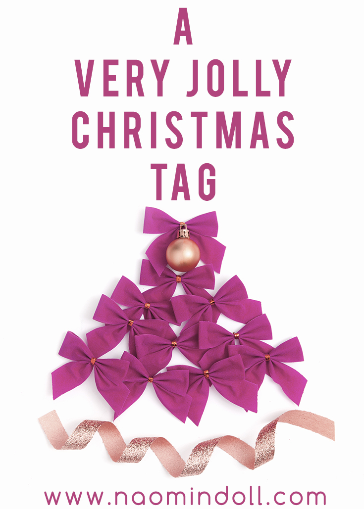 A fun and exciting christmas tag for everyone to enjoy. Great little post for fellow bloggers | Naomi 'N Doll
