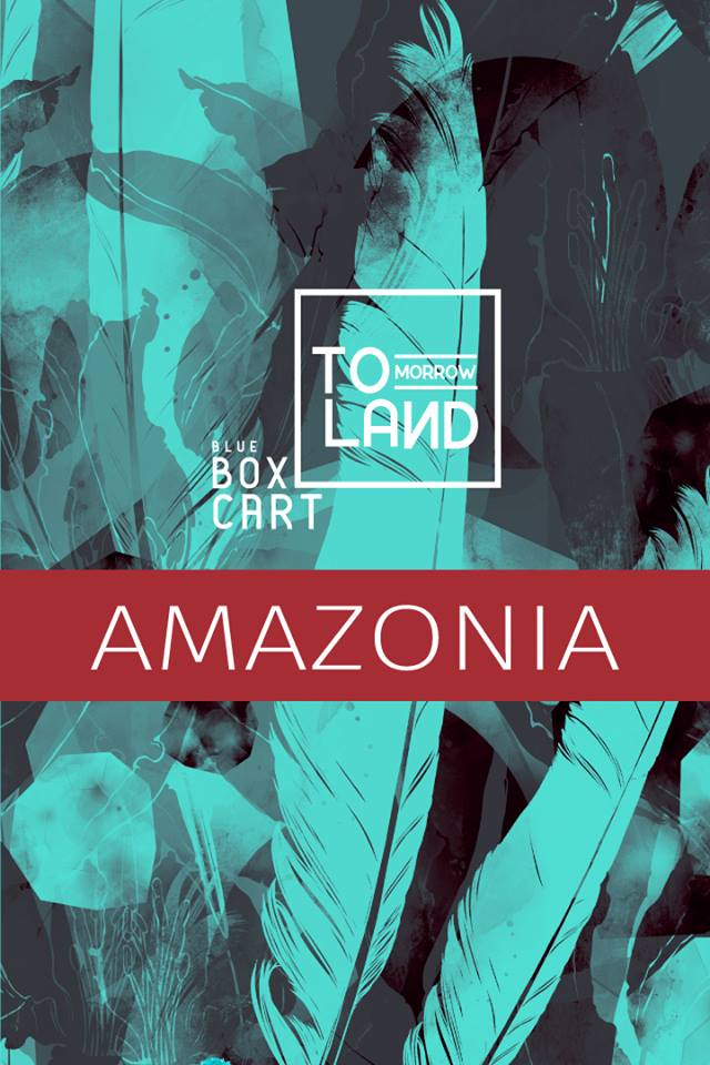 Blue Box Cart - Amazonia Poster