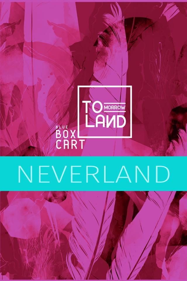Blue Box Cart - Neverland Poster