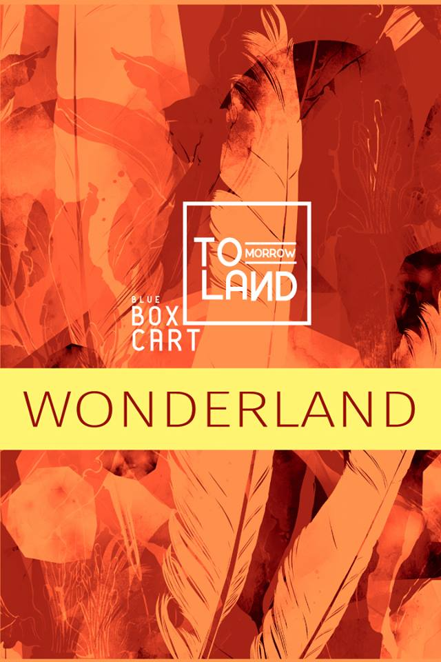Blue Box Cart - Wonderland Poster
