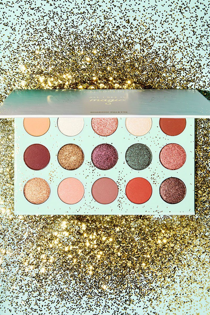 colourpop all i see is magic christmas wish list naomi n doll