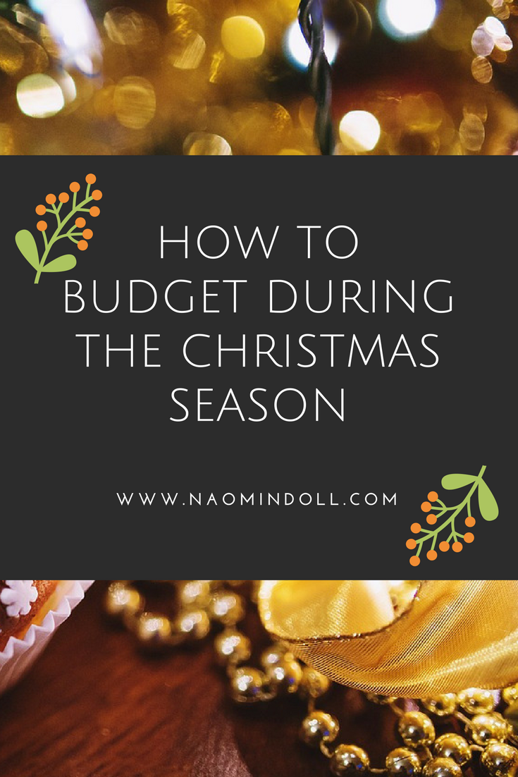 how to budget during the christmas season - naomi n doll pinterest budget christmas season